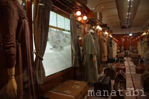 旅するルイ・ヴィトン展列車ブース