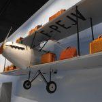 空の旅。機能的かつ軽量の鞄が増える。