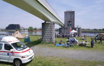 STEPCAMP 多摩川防災キャンプ